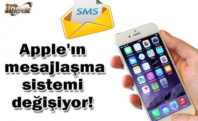 Apple'ın mesajlaşma sistemi değişiyor!