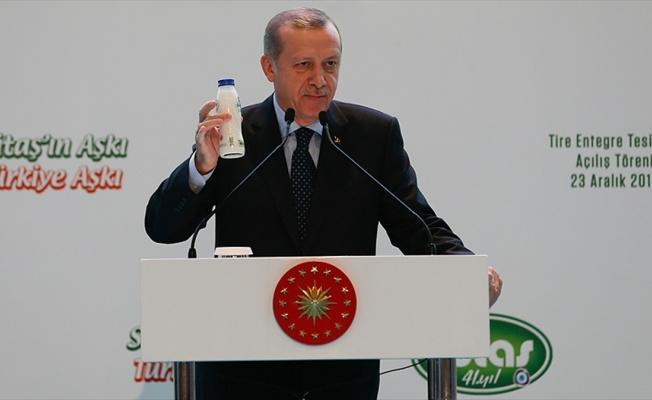 Cumhurbaşkanı Erdoğan: Bizim milli içkimiz ayrandır