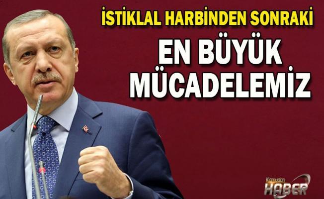 Cumhurbaşkanı Erdoğan'dan İstiklal Harbi mesajı