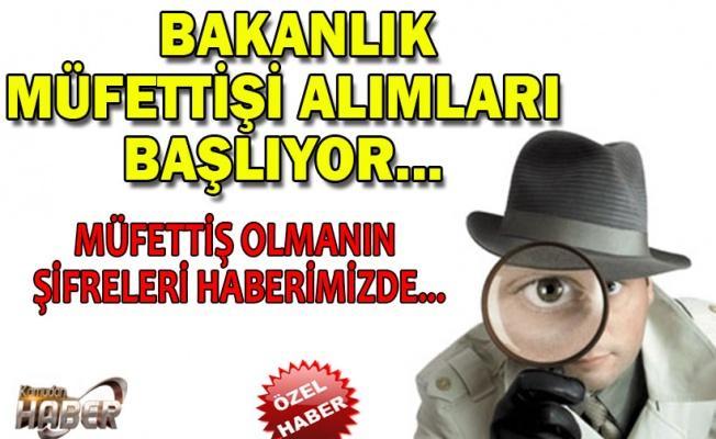 MİLLİ EĞİTİM MÜFETTİŞİ OLMAK İSTEYENLER DİKKAT !!!!