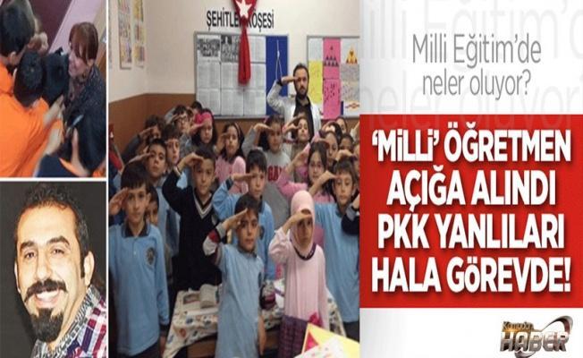 'Milli' öğretmen açığa alındı, PKK yanlıları hâlâ görevde