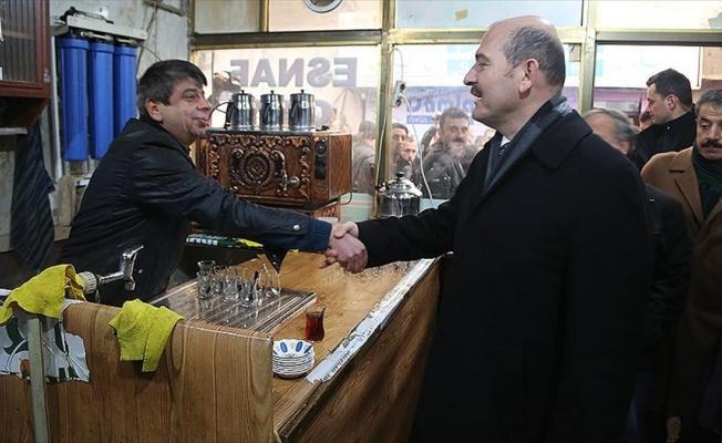 Soylu Cizre'de esnaf ve sivil toplum kuruluşlarının temsilcileriyle bir araya geldi