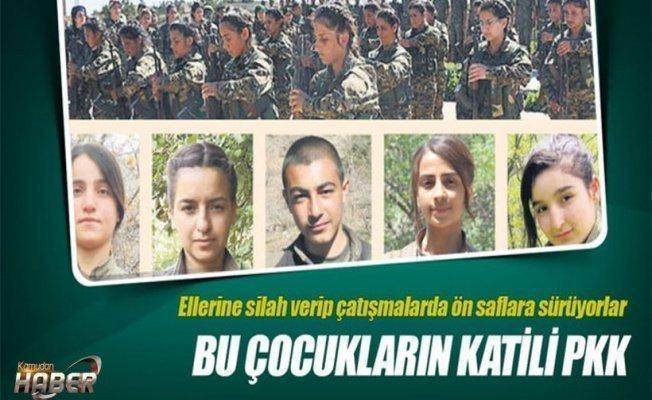 Bu çocukların katili PKK