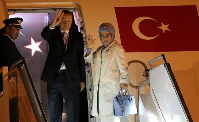 Cumhurbaşkanı Erdoğan Mozambik'e gitti