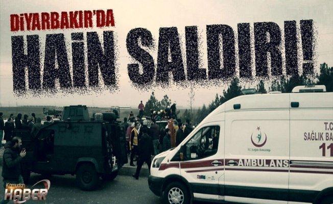 Diyarbakır'da polis aracına salıdırı: 1 polis şehit oldu
