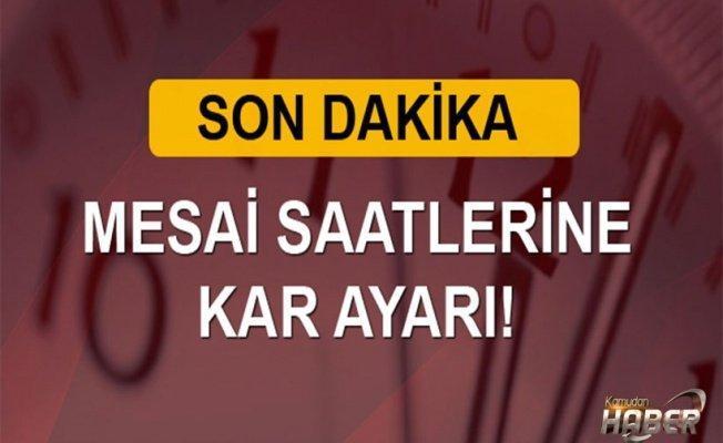 İstanbul'da memurlar bugün erken çıkacak