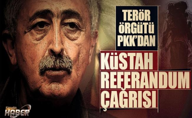 """PKK referandum için """"hayır"""" çağrısı yaptı"""