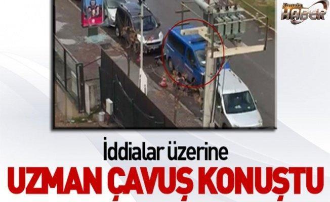 Uzman çavuş, İzmir saldırısını anlattı