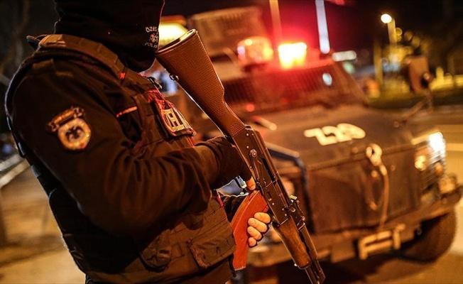 25 ilde terör operasyonu: 544 gözaltı