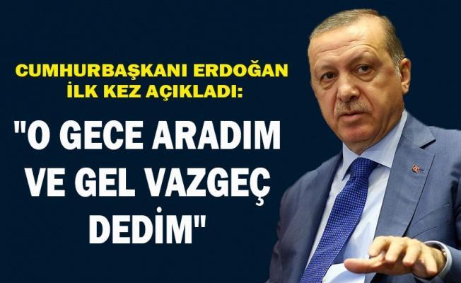 Erdoğan: Esed'e vazgeç dedim 360 kişiyi şehid etti!