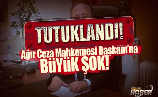 FETÖ'yü eleştiren Ağır Ceza Başkanı ByLock'tan tutuklandı!