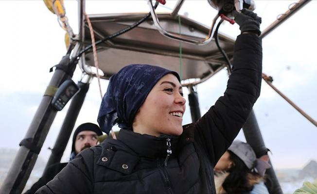 Kapadokya semalarının kadın pilotları