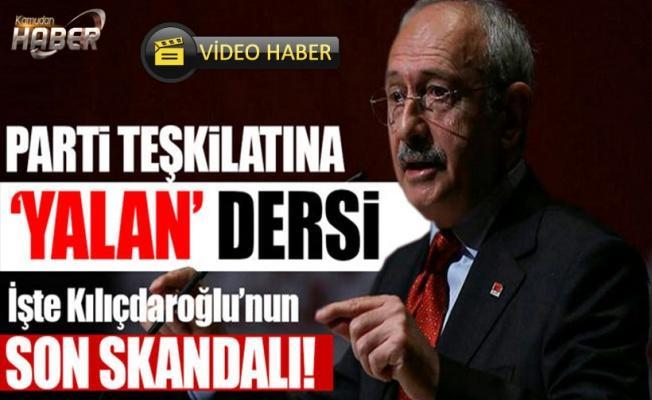 Kılıçdaroğlu'ndan yalan söyleme taktikleri!
