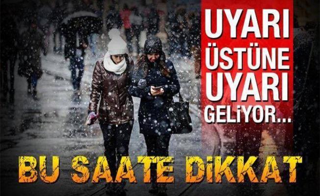 Meteorolojiden kar uyarısı! (10 Şubat 2017 İstanbul ve Ankara hava durumu)