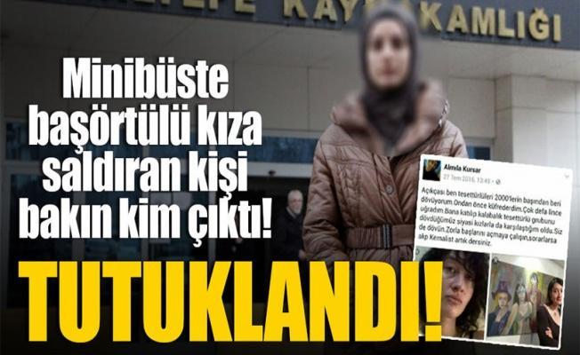 Minibüste darp iddiası: Mahkemeye sevkedilen kadın tutuklandı
