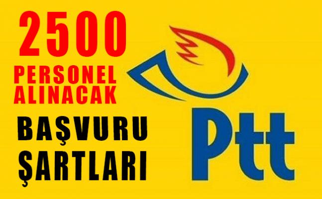 PTT, 2500 personel alacak