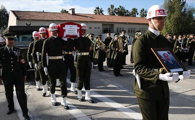 Şehit Uzman Çavuş Salih Kayan'ın cenazesi memleketine uğurlandı