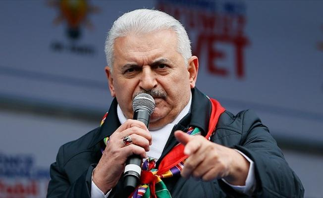 Başbakan Yıldırım: Ey Avrupa, Türkiye'nin içişlerine burnunuzu sokmayın