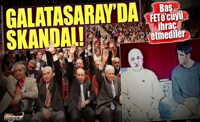 Galatasaray Genel Kurulu'nda FETÖ'cüleri savundular