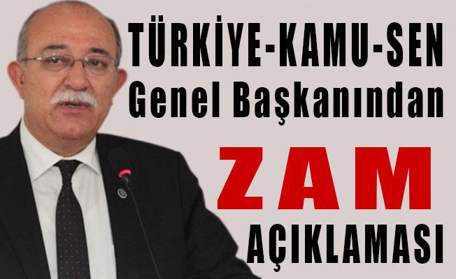 İsmail Koncuk, Enflasyon Zammı konusunda açıklamalarda bulundu