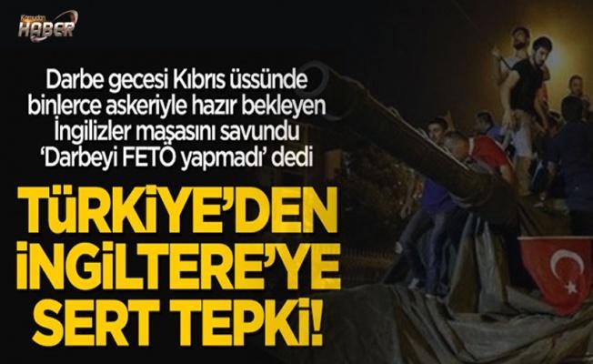 Türkiye'den İngiltere'nin küstah raporuna sert tepki!