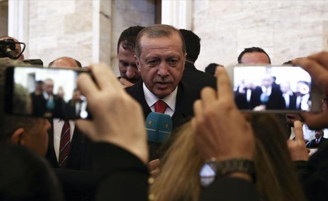 Cumhurbaşkanı Erdoğan: Tartışmalar üzerine değil barış üzerine bina edin