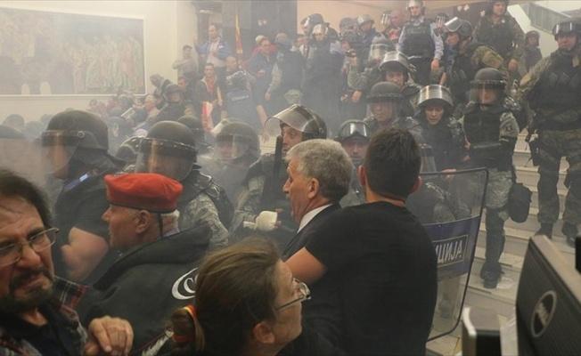 Cumhurbaşkanlığından Makedonya Meclisine sağduyu çağrısı