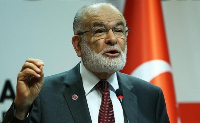 Saadet Partisi Genel Başkanı Karamollaoğlu: Bizi hukuka saygı göstermemekle itham ediyorlar