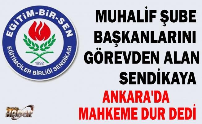 Ankara'da da hakimler var, Sendika ağalığına son! Eğitim Bir Sen'in 'olağanüstü kongre' oyununa...