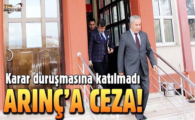 Bülent Arınç'a hakaret davasından para cezası verildi