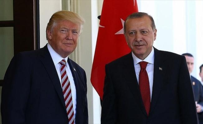 Cumhurbaşkanı Erdoğan Trump ile Katar'ı görüştü