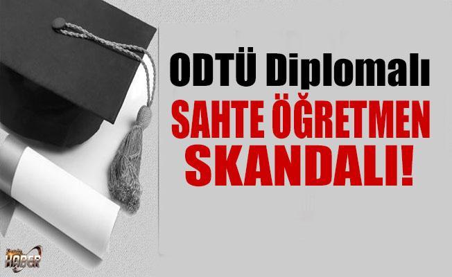 İngilizce Öğretmenin ODTÜ diploması sahte çıktı!