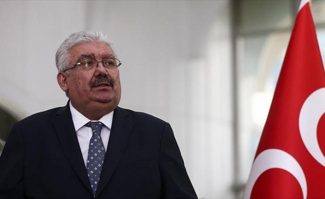 MHP Genel Başkan Yardımcısı Yalçın: CHP, FETÖ ile hep al takke ver külah ilişkisi içinde olmuştur