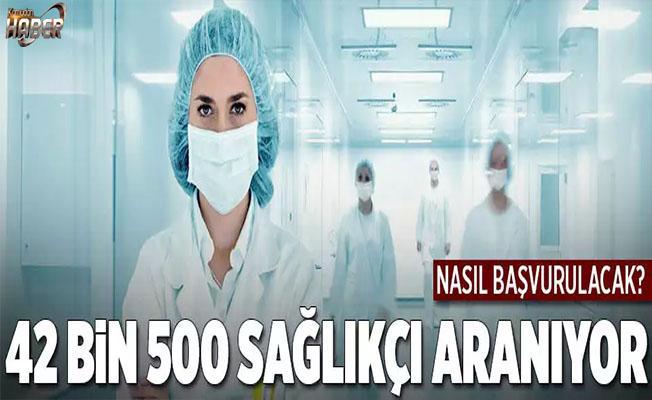 Sağlık Bakanlığı, 42 bin 500 sağlıkçı alımı yapacak