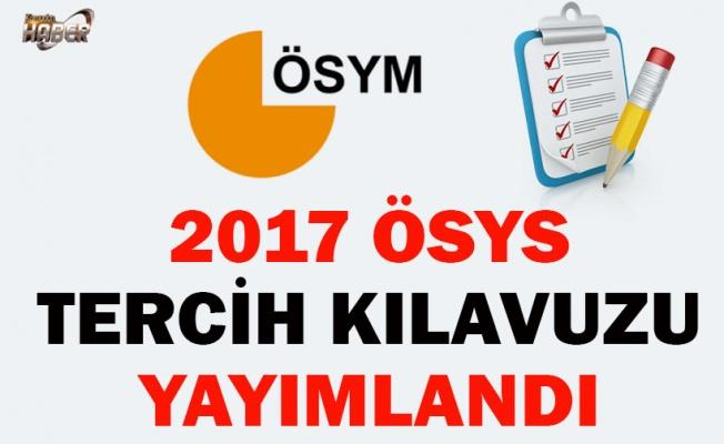 2017 ÖSYS  TERCİH KILAVUZU YAYIMLANDI