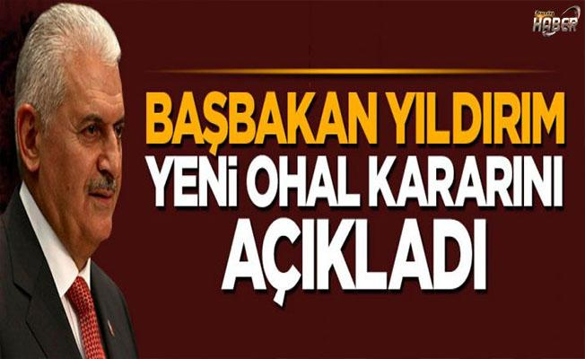 Başbakan Yıldırım'dan OHAL süresi ile ilgili açıklama!