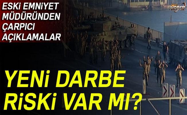 Eski emniyet müdürü Hanefi Avcı'dan yeni darbe riski ile ilgili açıklama!