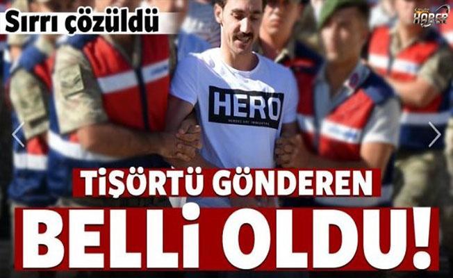 'Hero' tişörtünün geldiği adres belli oldu!