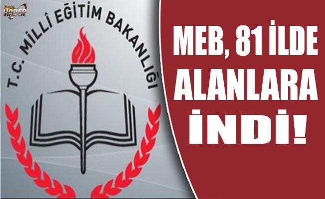 MEB camiası, 15 Temmuz yıl dönümünde 81 İlde alanlardaydı.
