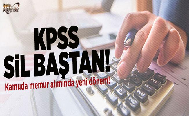 Memur alımında KPSS'siz yeni dönem!