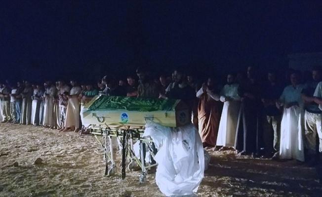 Suriyeli anne ve bebeğinin cenazeleri toprağa verildi
