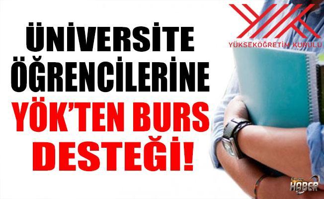 YÖK'ten Üniversite Öğrencilerine Destek Bursu!
