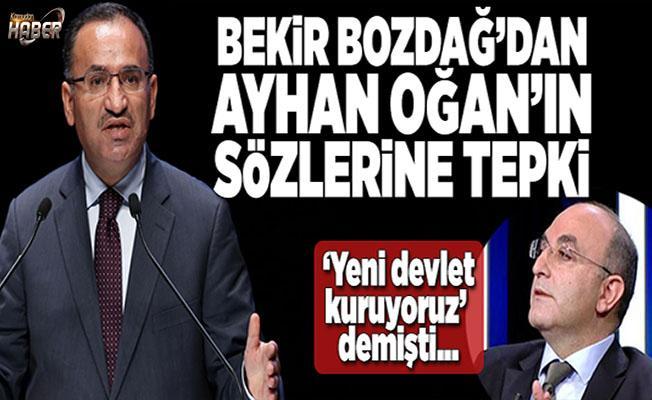 Başbakan Yardımcısı Bozdağ: AK Parti MKYK'sının eski üyesinin beyanları şahsını bağlar