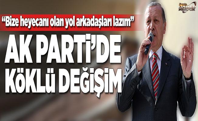 Cumhurbaşkanı Erdoğan: Kendimizi yenilemek, tazelemek gerekiyor