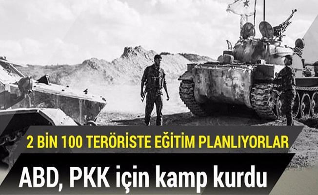 ABD, PKK için kamp kurdu