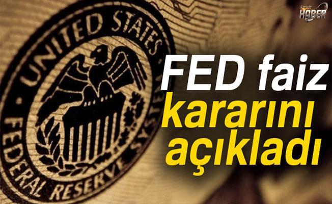 Fed faizlerde değişikliğe gitmedi.