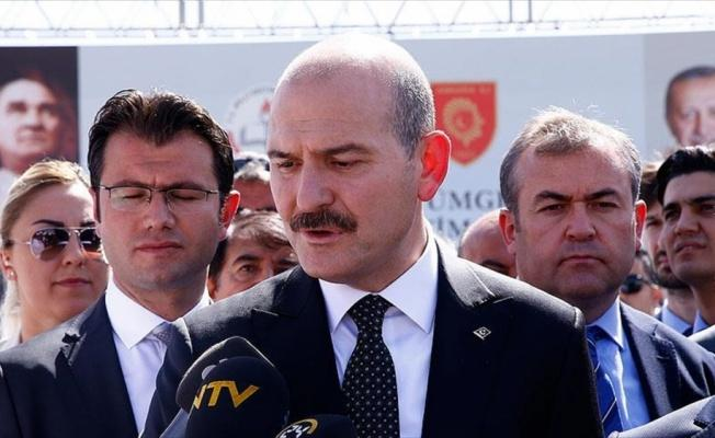 İçişleri Bakanı Soylu: Olayla ilgili gözaltı işlemleri başladı