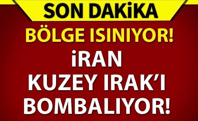 İran, IKBY'yi bombalamaya başladı!
