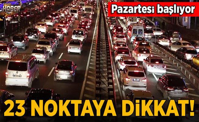 İstanbul'da okulların ilk gününde trafiğe dikkat!