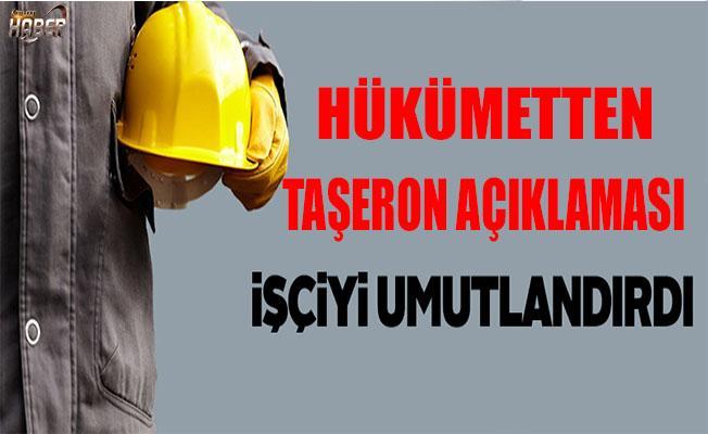 Türk-İş Genel Başkanı Atalay: Hükümetin taşeron açıklaması işçiyi umutlandırdı